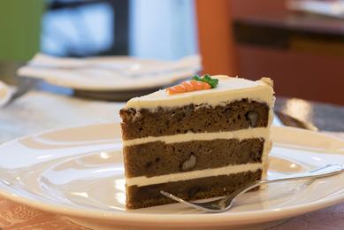 Torta de Zanahoria Porción
